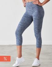 Ladies Seamless Cropped Leggings